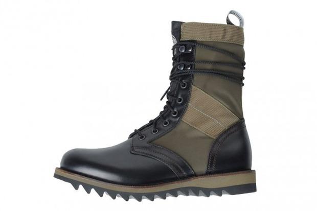 Итальянские марки Stone Island и Diemme представили совместную коллекцию обуви. Изображение № 1.