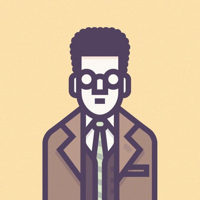 Coen Cast: Персонажи фильмов братьев Коэн в иллюстрациях дизайнера Ричарда Переса. Изображение № 14.