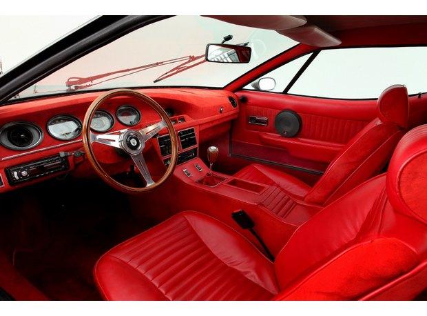 Кастомная версия спорткара Maserati Merak 1975 года уйдет с молотка. Изображение № 3.