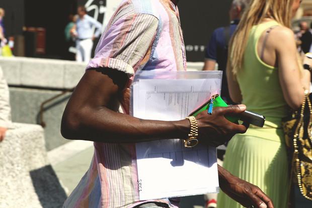 Детали: Репортаж с выставки мужской одежды Pitti Uomo. День первый. Изображение № 31.