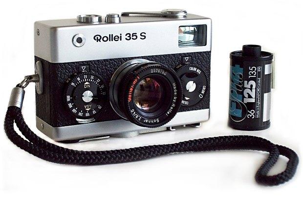 Находка недели: Компактная фотокамера Rollei 35. Изображение № 2.