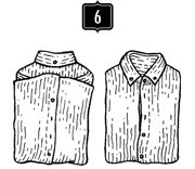 How to: Как сложить рубашку. Изображение №7.