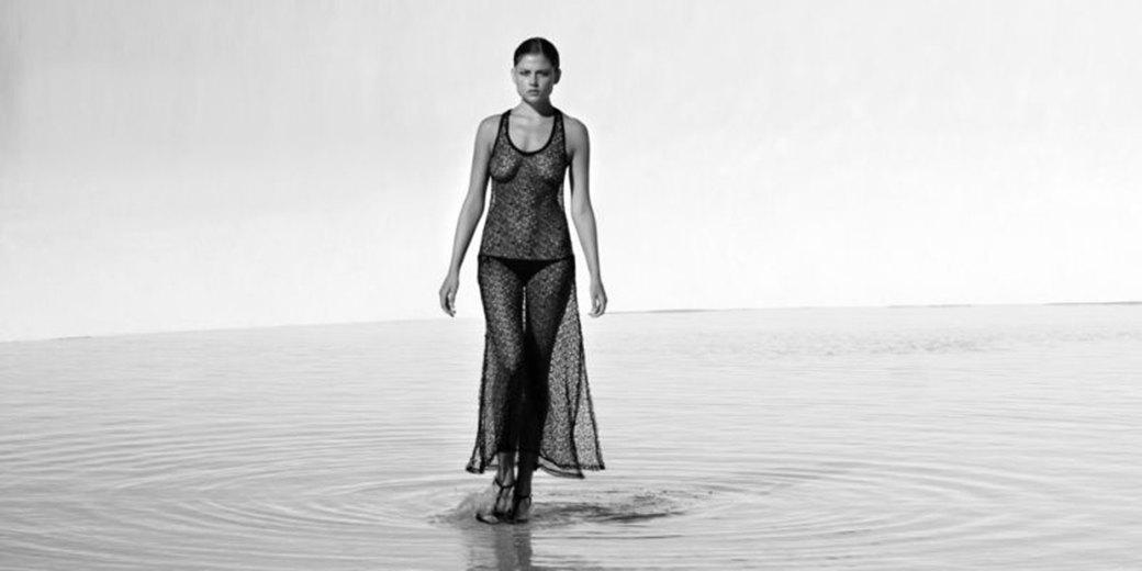 Майкл Пламридж сфотографировал Лорен Гаррисон для нового номера журнала Wolf Magazine. Изображение № 5.