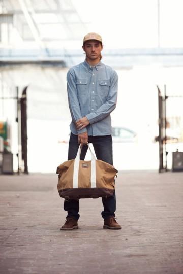 Марка Obey выпустила лукбук весенней коллекции одежды. Изображение № 20.