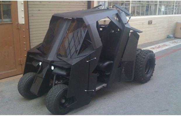 На eBay выставили на продажу «гольф-кар Бэтмена». Изображение № 1.