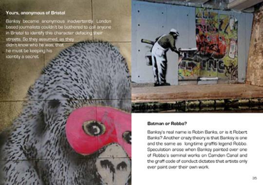 Новая книга о граффити-художнике Бэнкси. Изображение № 6.
