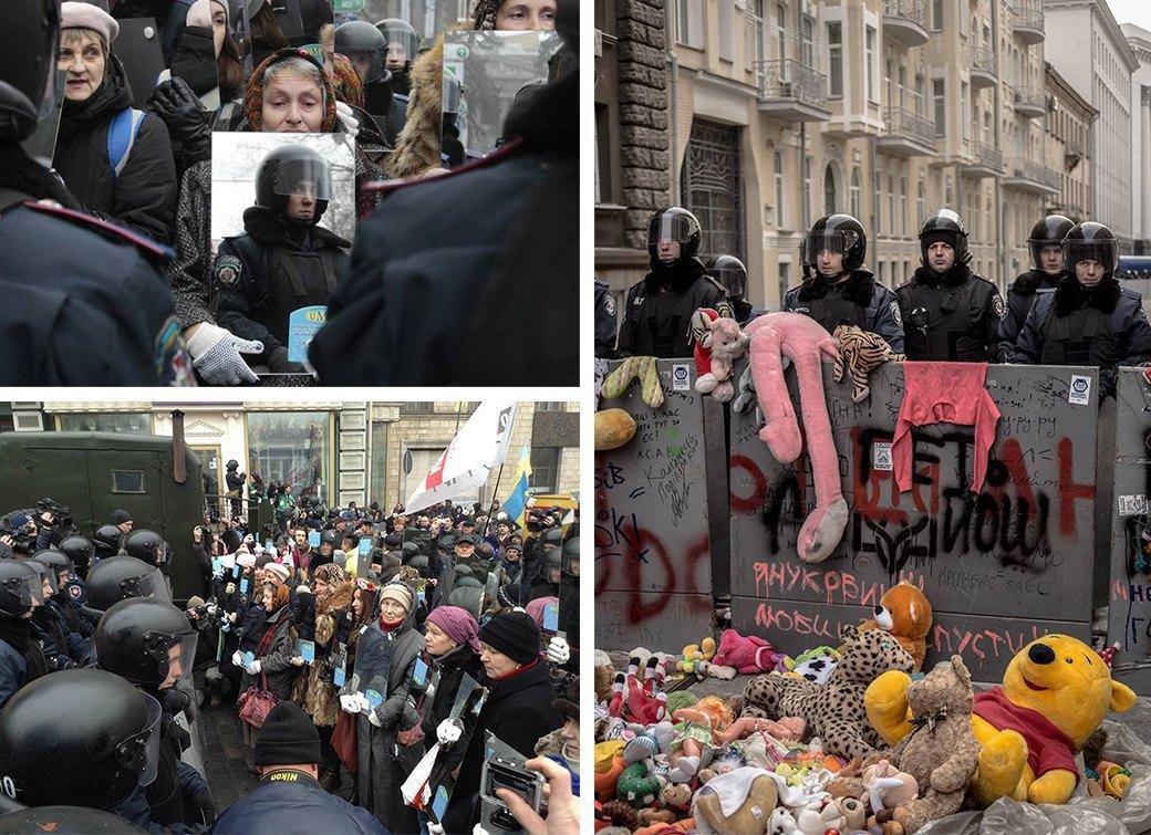 Протестное искусство на Майдане: Плакаты, перформансы, стрит-арт. Изображение № 3.