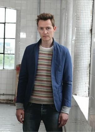 Шотландская марка Folk опубликовала лукбук весенней коллекции одежды. Изображение № 9.