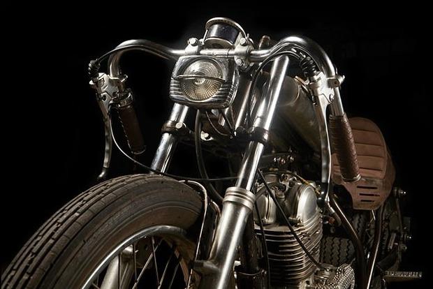 Испанская мастерская El Solitario изготовила мотоцикл Winning Loser. Изображение № 16.