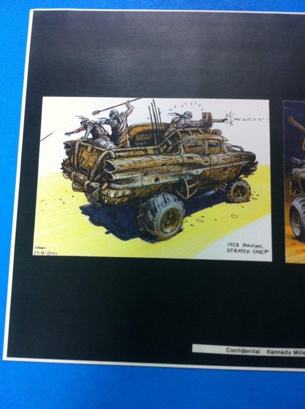 Опубликованы первые концепт-арты фильма «Безумный Макс: Дорога ярости». Изображение № 6.