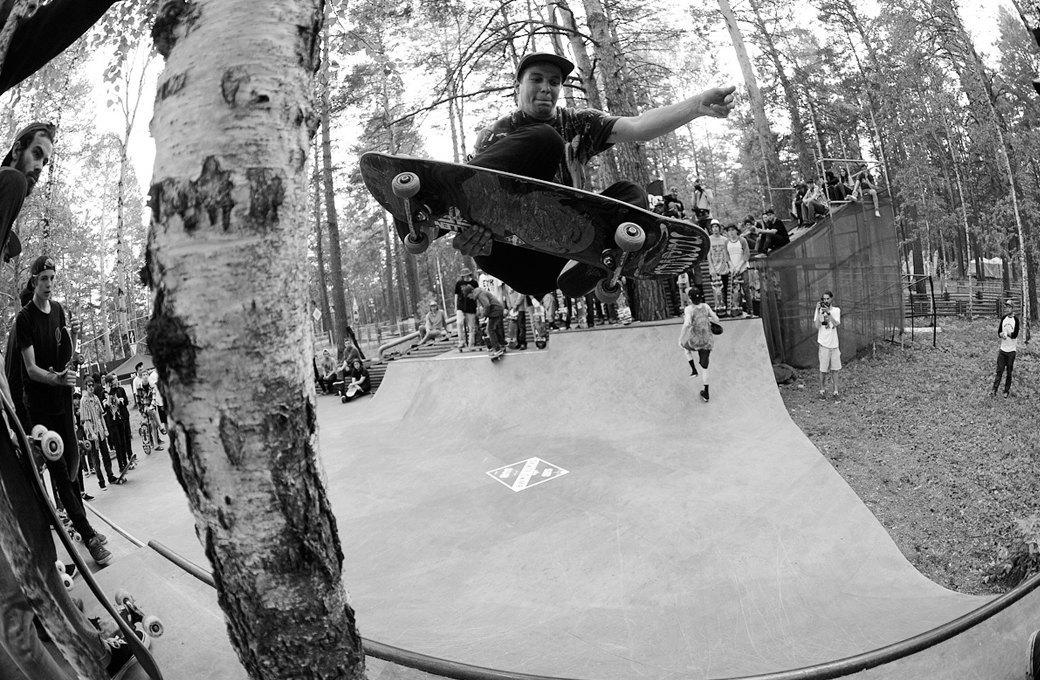 Фотоблог скейтера: Алексей Лапин о скейт-лагере в Сибири. Изображение № 13.