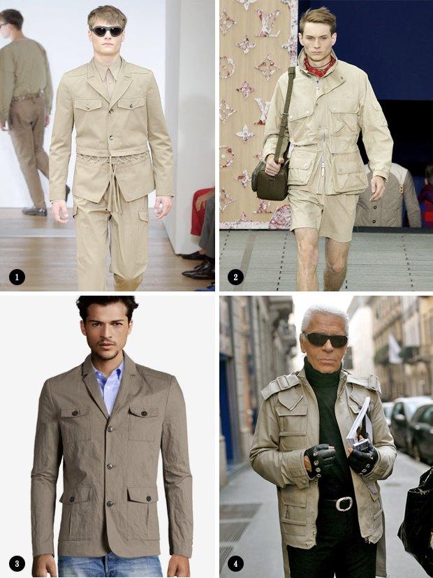 Охота, и все: Как правильно носить куртку-сафари. Изображение № 3.