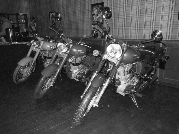 В Москве официально открылся салон мотоциклов Royal Enfield. Изображение № 24.