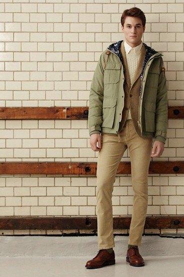 Марка Gant Rugger опубликовала лукбук осенней коллекции одежды. Изображение № 9.