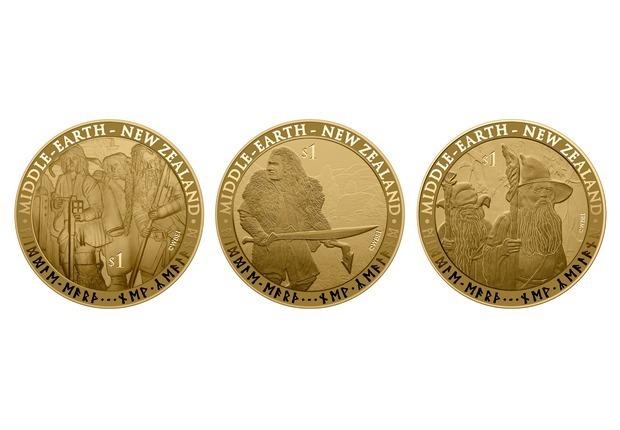 В Новой Зеландии появятся монеты и марки с изображением героев Толкина. Изображение № 3.