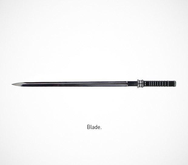 Итальянский дизайнер представил коллекцию ножей знаменитых персонажей. Изображение № 6.