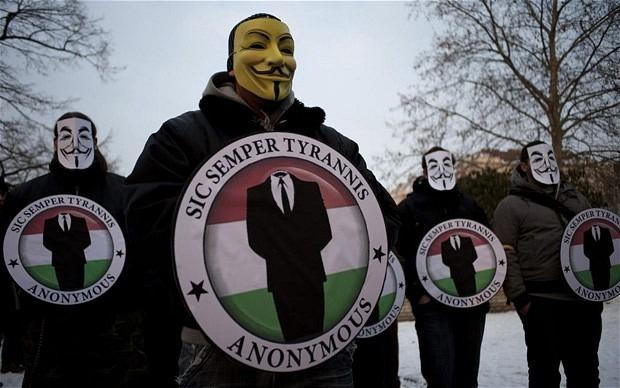 Хакеры из Anonymous объявили войну Израилю. Изображение № 1.