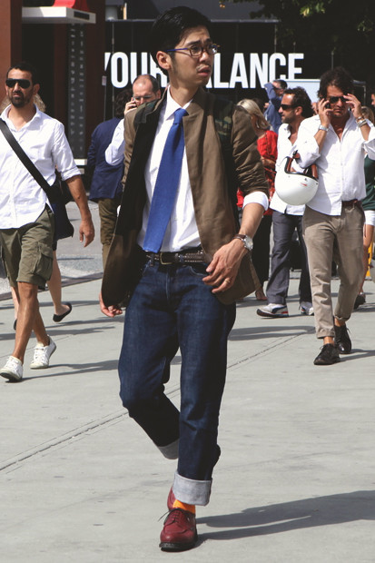Детали: Репортаж с выставки мужской одежды Pitti Uomo. День второй. Изображение № 17.