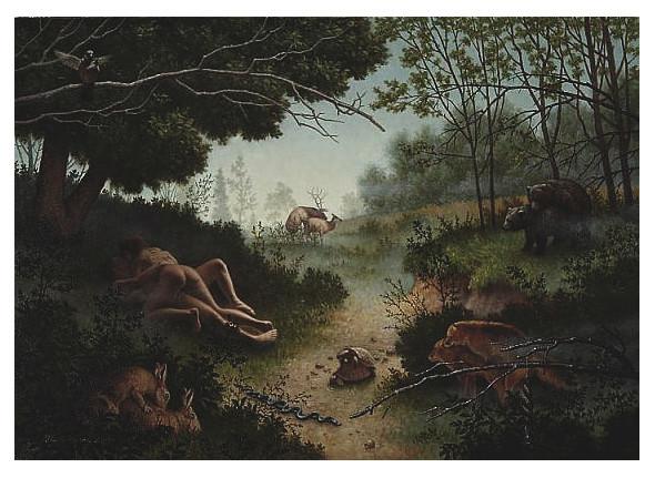 Картина Стивена Кенни «Животная привлекательность», 2010. Изображение № 31.