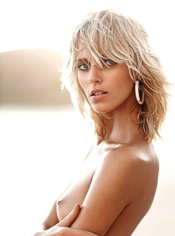 Модели Аня Рубик и Андреа Дьякони снялись обнаженными у фотографа Марио Сорренти. Изображение № 11.