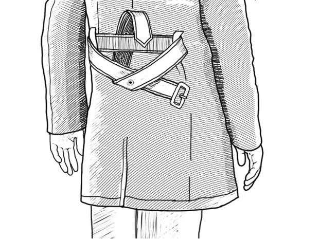 Совет: Как завязывать пояс на тренче. Изображение № 8.