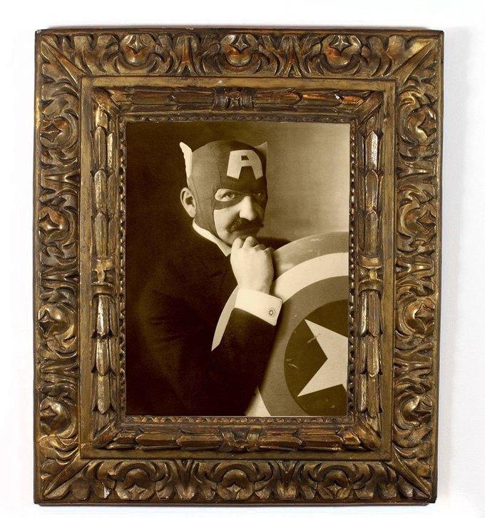 Foto Marvellini: Винтажный фотоальбом супергероев. Изображение № 3.
