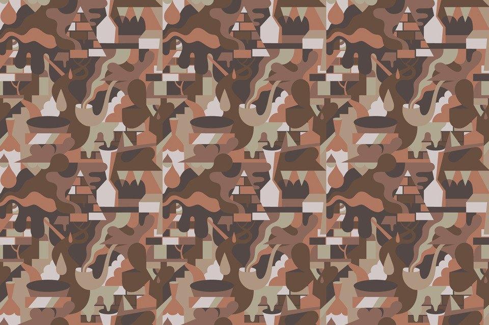 Эксперимент FURFUR: 8 художников рисуют собственный камуфляж. Изображение № 1.