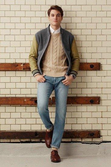Марка Gant Rugger опубликовала лукбук осенней коллекции одежды. Изображение № 10.
