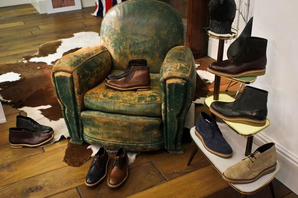 Новая коллекция обуви марки Hudson. Изображение № 1.