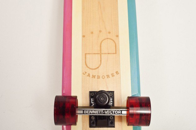 Марка Side Project Skateboards вместе с Jamboree Store представила винтажные скейтборды. Изображение № 4.