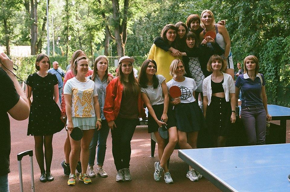 Фоторепортаж: Женский турнир по пинг-понгу в Нескучном саду. Изображение № 31.