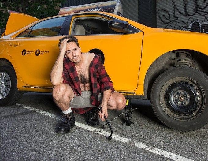 Таксисты Нью-Йорка выпустили благотворительный календарь. Изображение № 7.