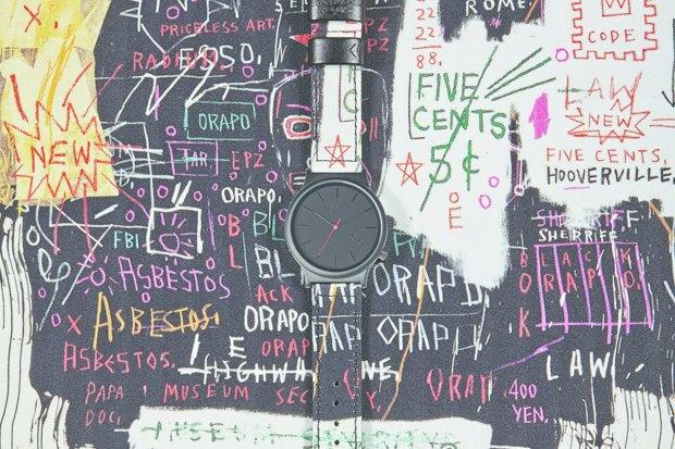 Марка Komono выпустила часы, оформленные работами Жан-Мишеля Баския. Изображение № 6.