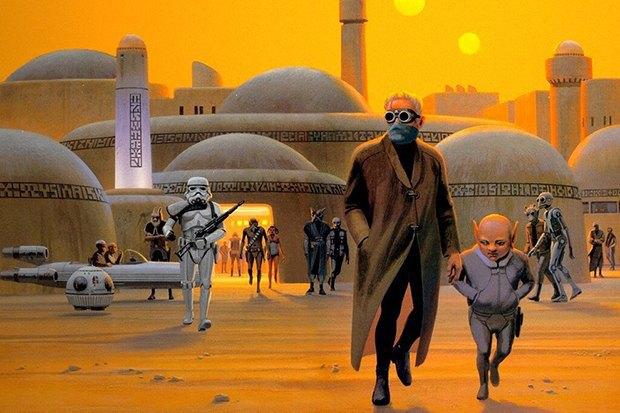 В сети появился оригинальный концепт-арт «Звёздных войн». Изображение № 6.