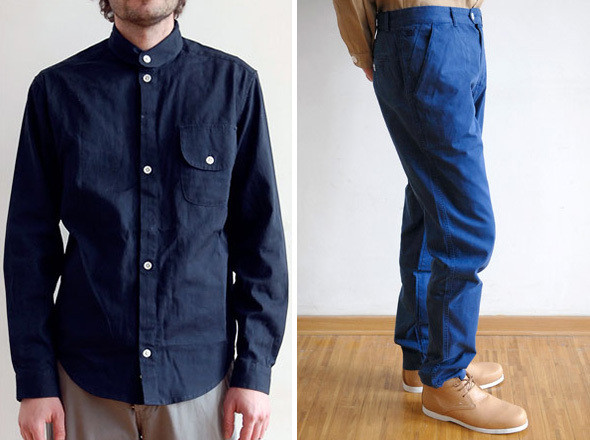 Frost Birgens, рубашка King | Soulland, брюки kamppsoulland, брюки kampp . Изображение № 12.
