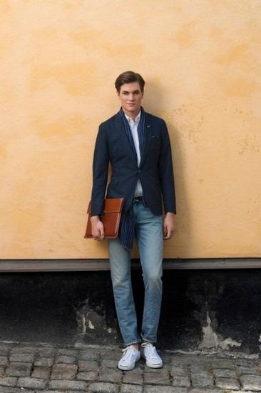Марка Gant Rugger представила лукбук весенней коллекции одежды. Изображение № 13.