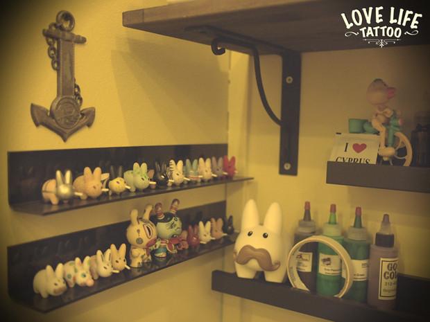Репортаж из нового помещения Love Life Tattoo. Изображение № 9.