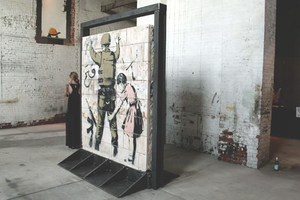 10 последних проектов уличного художника Бэнкси. Изображение № 3.
