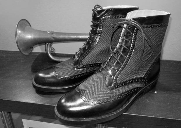 Московская марка «Мастерская 55» выпустила осеннюю коллекцию обуви. Изображение № 3.