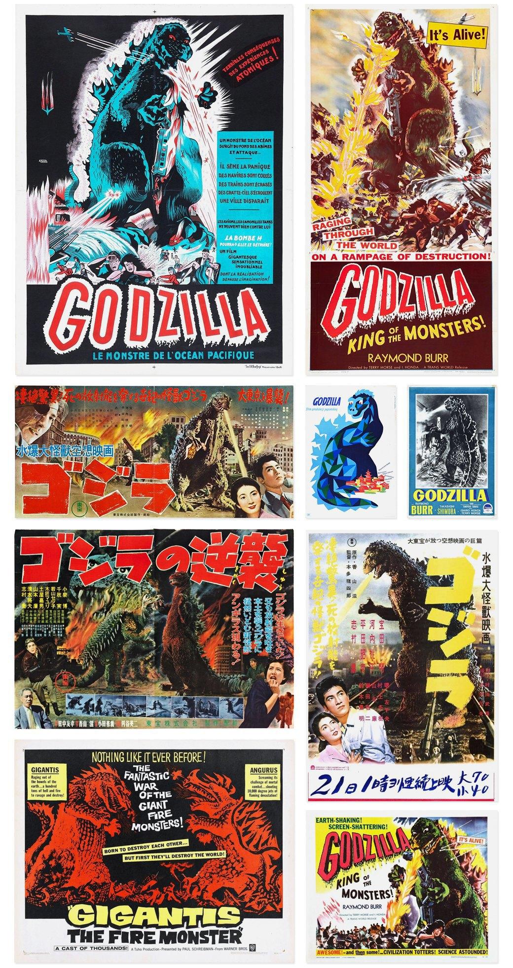 50 плакатов к фильмам о Годзилле. Изображение № 1.