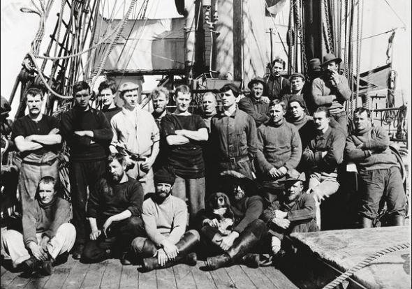 Считавшиеся утерянными фотографии Антарктики были выставлены в британских музеях. Изображение № 2.