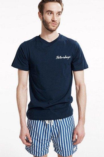 Марка Saturdays Surf NYC выпустила лукбук осенней коллекции одежды. Изображение № 19.