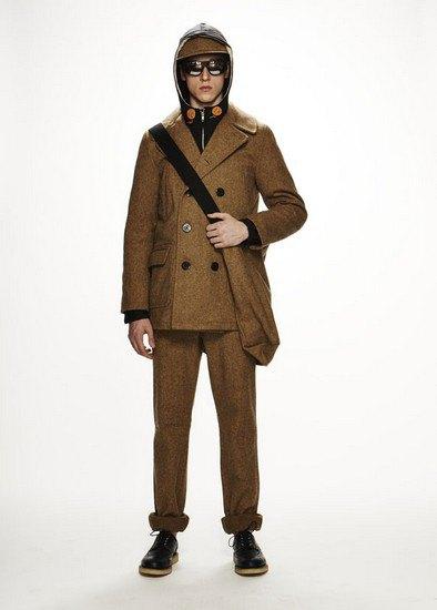 Марка Woolrich Woolen Mills опубликовала лукбук осенней коллекции одежды. Изображение № 17.