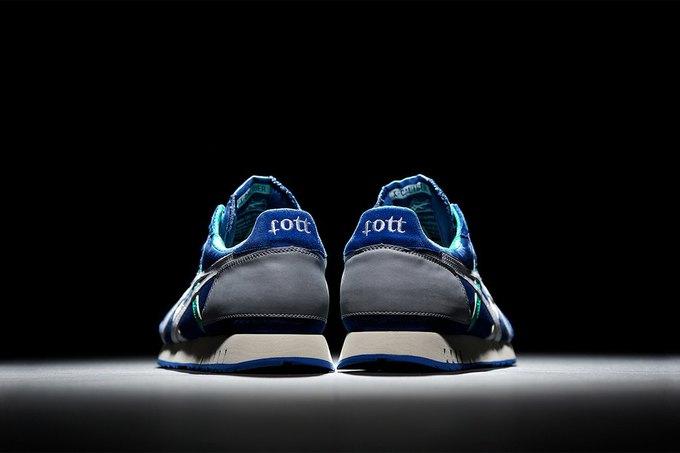 Московский магазин Fott и марка Onitsuka Tiger представили совместную модель кроссовок. Изображение № 2.