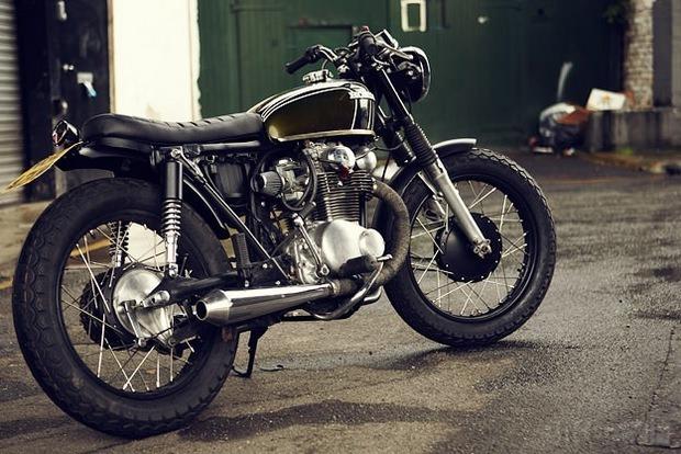 Английская мастерская Untitled Motorcycles представила каферейсер Honda CB350. Изображение № 3.