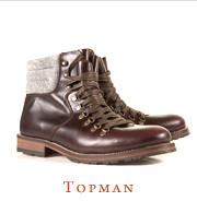 Хайкеры, высокие броги и другие зимние ботинки в интернет-магазинах. Изображение № 5.
