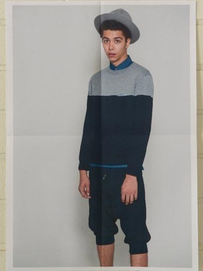Японская марка Discovered выпустила лукбук весенней коллекции одежды. Изображение № 7.