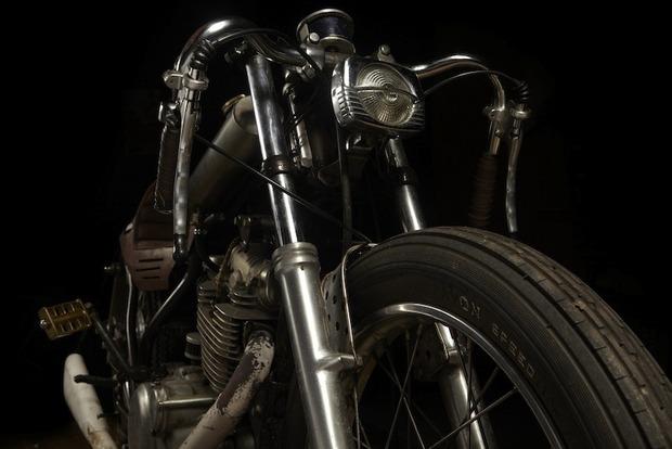 Испанская мастерская El Solitario изготовила мотоцикл Winning Loser. Изображение № 11.