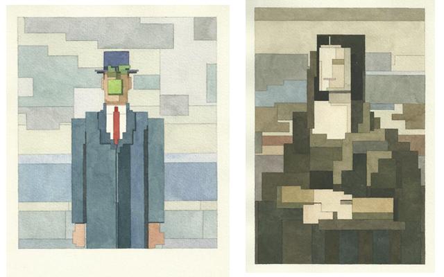 Адам Листер: Иконы поп-культуры в 8-битной живописи. Изображение № 6.