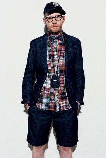 Марка Sophnet опубликовала лукбук весенней коллекции одежды. Изображение № 4.